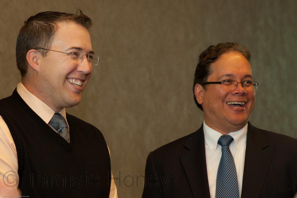 Frank Haggas & Jacques Sanchez