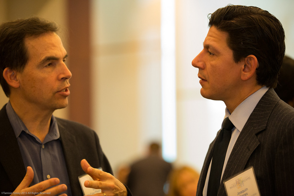 Steve McCoy-Thompson of Urban Solutions and Joaquin Torres of the San Francisco Office of Economic & Workforce Development