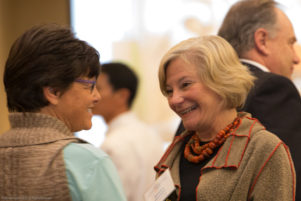 Jane Winter of YWCA of San Francisco & Marin, and Barbara Morrison of TMC Financing
