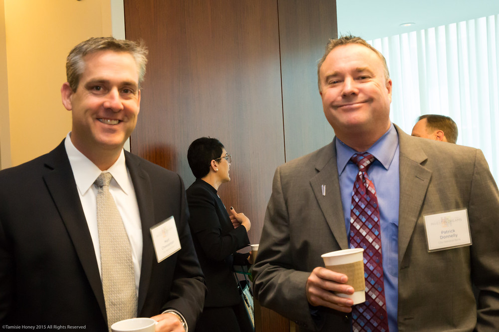 Matt Cheeseman and Patrick Donnelly of City National Bank