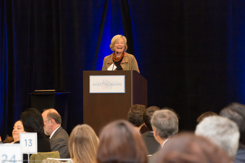 Working Solutions Board President and co-founder, Barbara Morrison