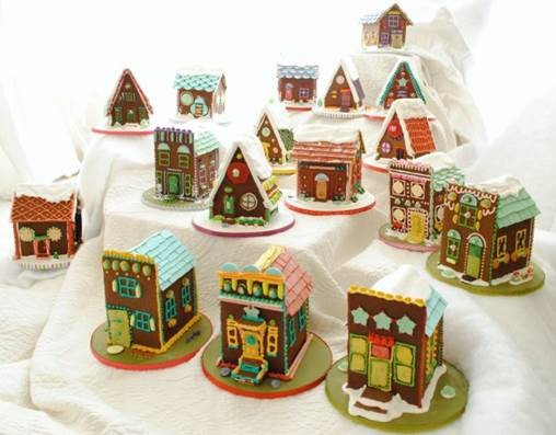 Gingerbread houses from the Whole Cake