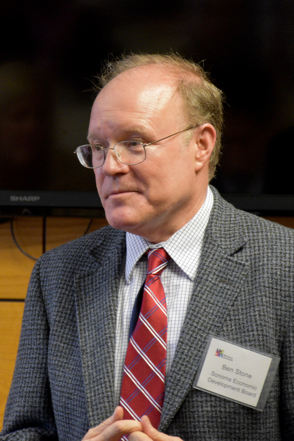 Sonoma County Economic Development Board Executive Director Ben Stone