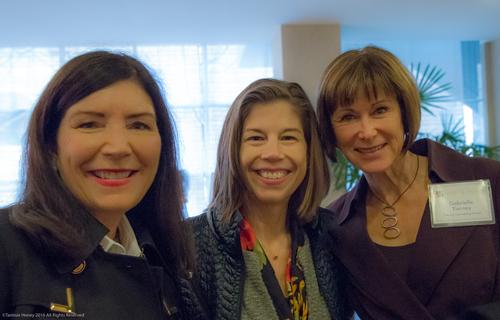 Meg Crofton, Darcy Mackay, and Gabrielle Tierney