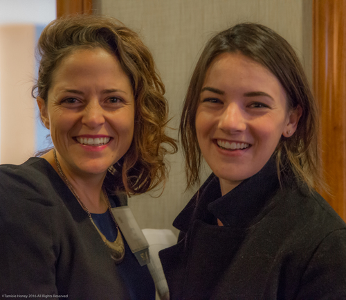 Jenny Lee of Working Solutions and Cali Martin of Airbnb