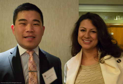 DavidHoChun Liu of Union Bank and Nancy Rosales of Airbnb