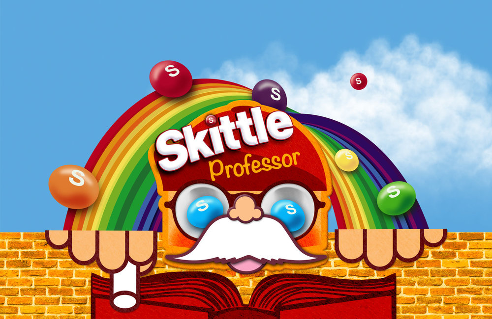 Skittle💰Professor - There are roughly 168 Skittles in a bag. The bag costs $1,3.So 1 Skittle = $0,0077… But what is everything else worth?Web shop concept - e-commerce masterclass 2014