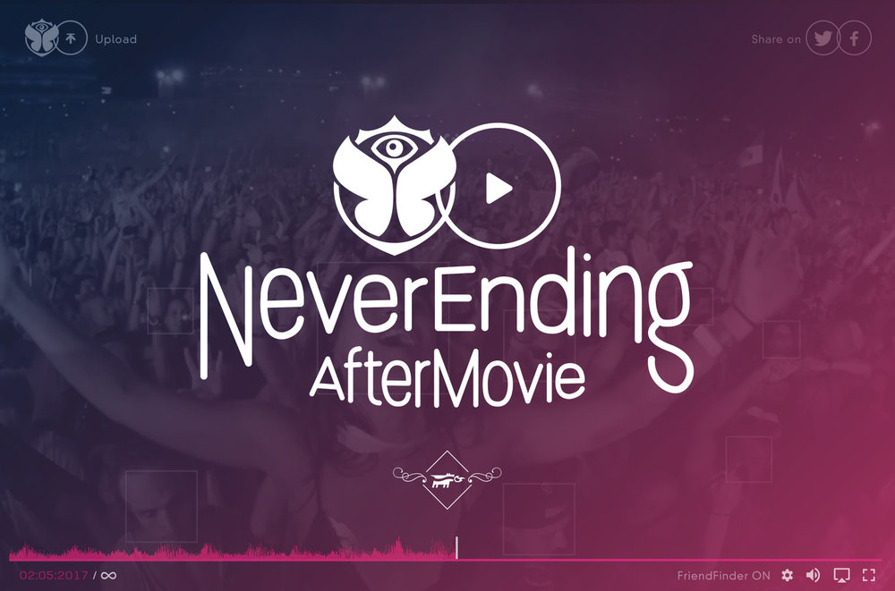 Never Ending🎉Aftermovie - Tomorrowland seizes to be relevant once the summer ends.What if their aftermovie kept going and spamming people?Scam for Tomorrowland - YoungDogs competition 2017