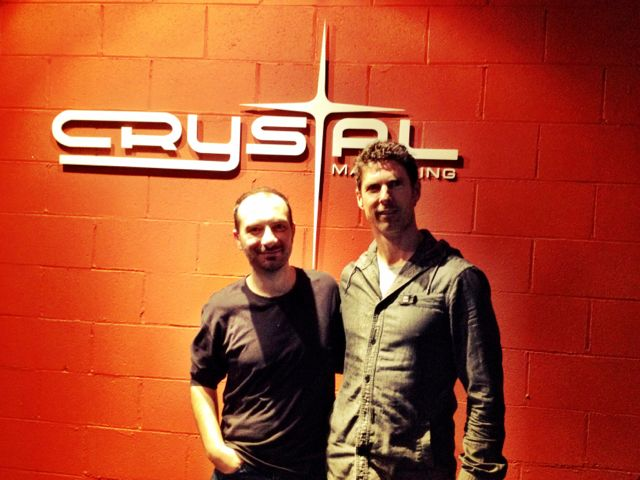 Joe Carra and Simon Lewis @ Crystal Mastering
