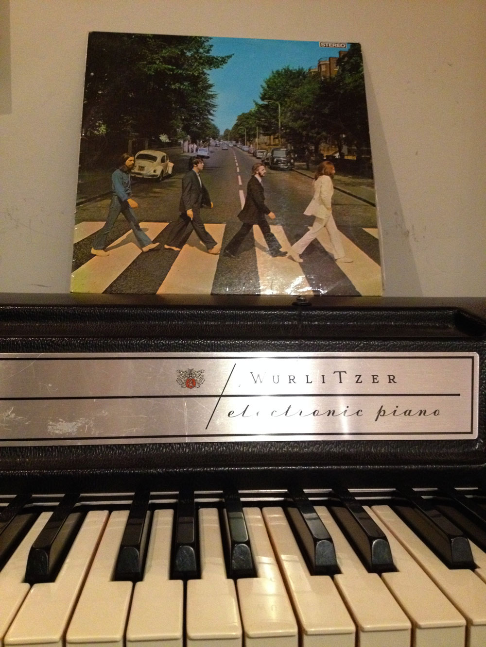 Abbey Road Vinyl with Wurlitzer A200