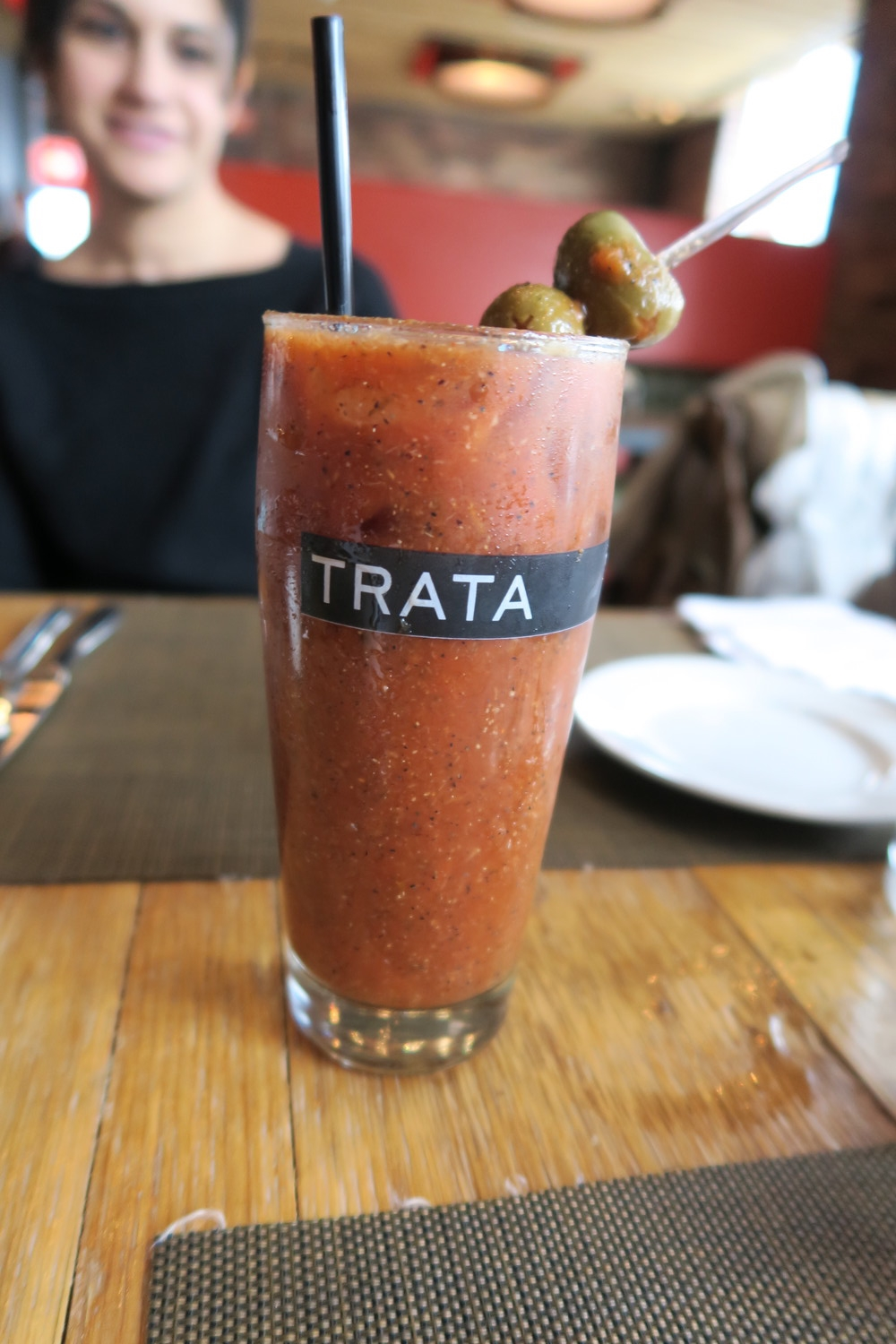 Trata's Bloody Mary with Sriracha