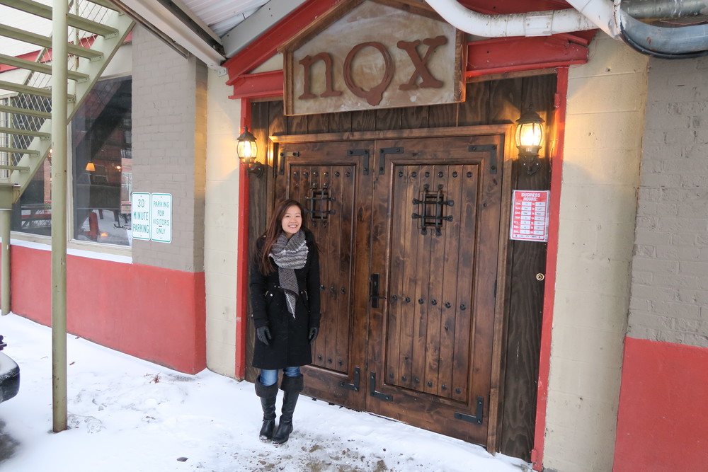 Welcome to Nox. Behind these wooden doors lies some magical libations to delight your tastebuds.