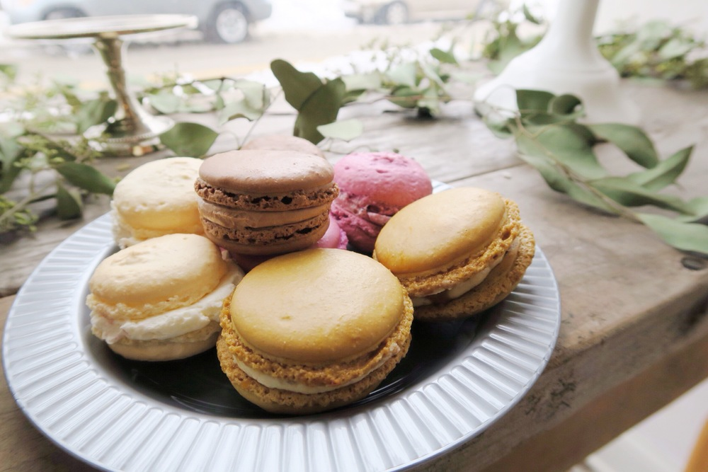 Scratch Bakeshop has mastered French Macarons. The Salted Caramel ones  make me weak in the knees.