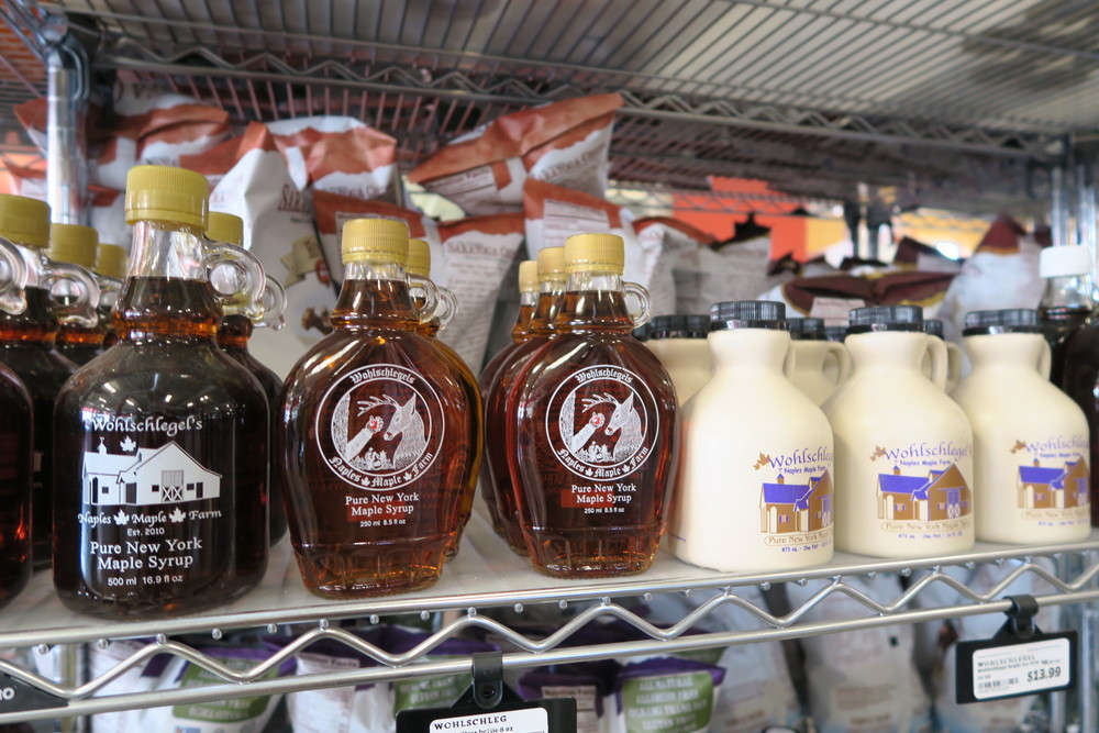 Your pick of NYS Maple Syrup.