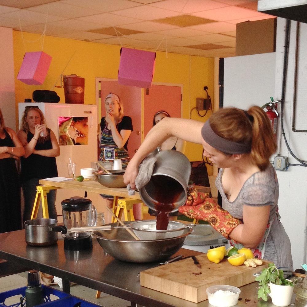 Amber Cooking.jpg