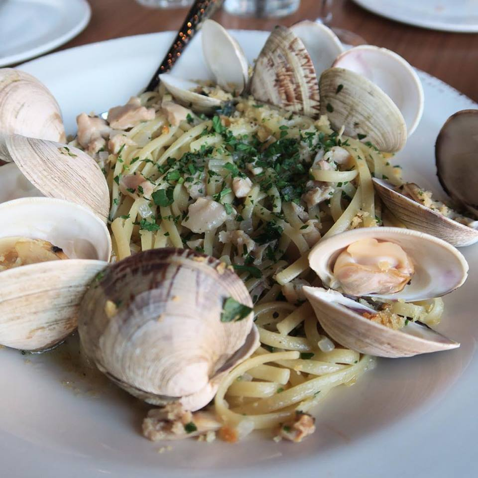 The Linguini & Clams at Grappa! My other favorite is the Bolognese!