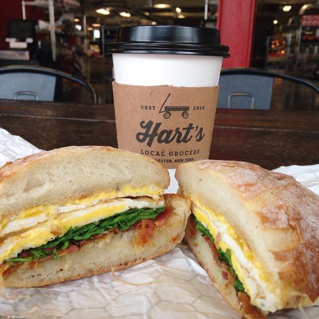 Hart's Breakfast Sandwich