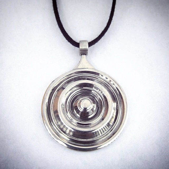 Throwback to ME298 at Stanford and that reversible lathe-turned Ripple pendant. I gave it to my mom because they both are one of a kind :) #tbt #WaddieCrazyHorse