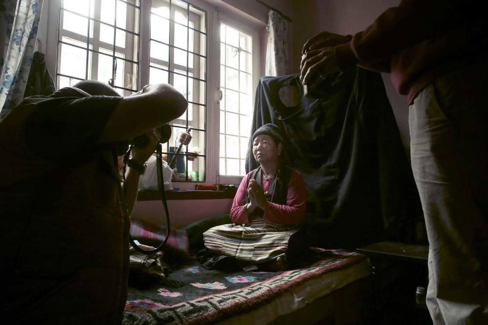 Portrait of Lhanchyam /  Portrait de Lhanchyam