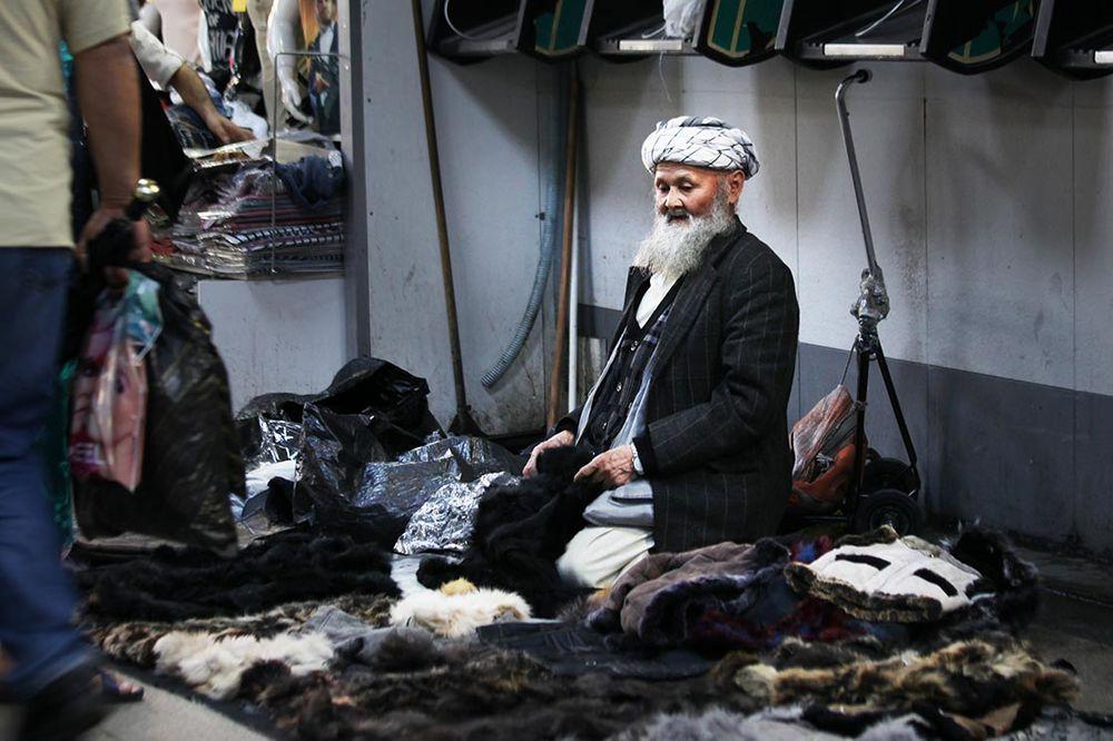 Waistcoats seller in  Istanbul  streets| TURKEY