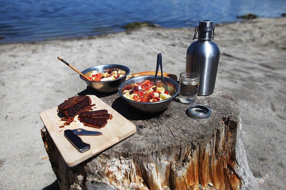 Bastulma  x Salad x Sevan lake | ARMENIA