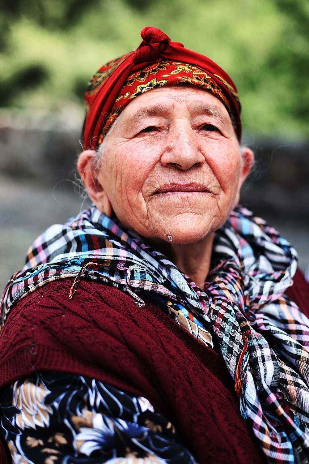 Armenian old woman