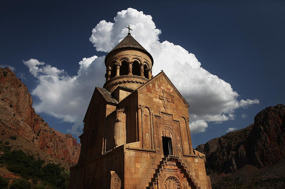 Noravank  is a 13th-century monastery. In this time the monastery became a residence of  Syunik 's bishops and, consequently. a major religious and, later, cultural center of Armenia closely connected with many of the local seats of learning  | ARMENIA