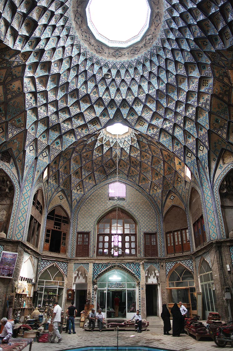 Bazaar of  Kashan  have been built in the Seljuk era