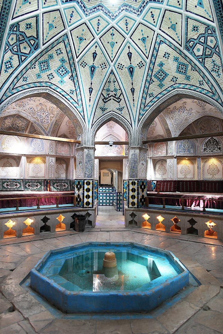 Sultan Amir Ahmad Hammam in  Kashan  (16th century)