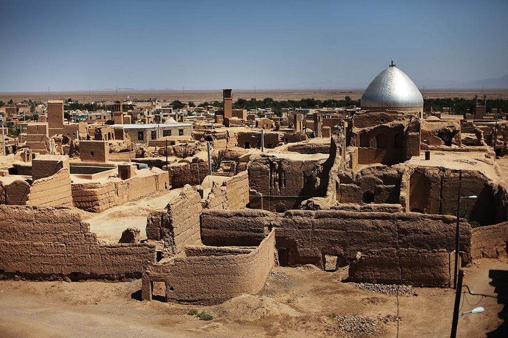 A view of  Aqda , an old village (8th century) located in the northwest of Ardakan | IRAN
