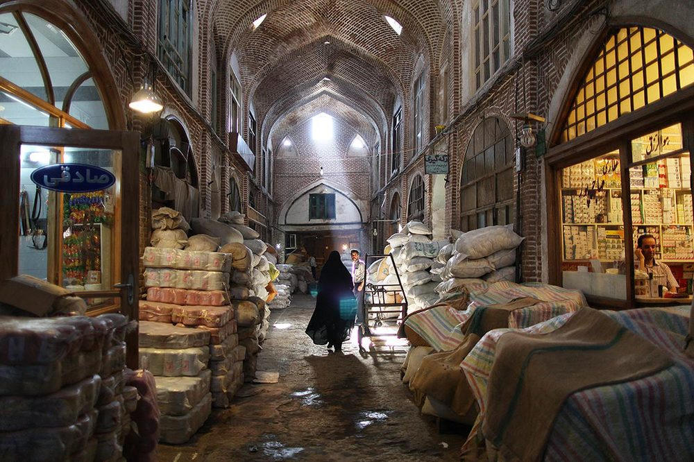The Bazaar of  Tabriz  is one of the oldest bazaars in the Middle East and the largest covered bazaar in the world | IRAN