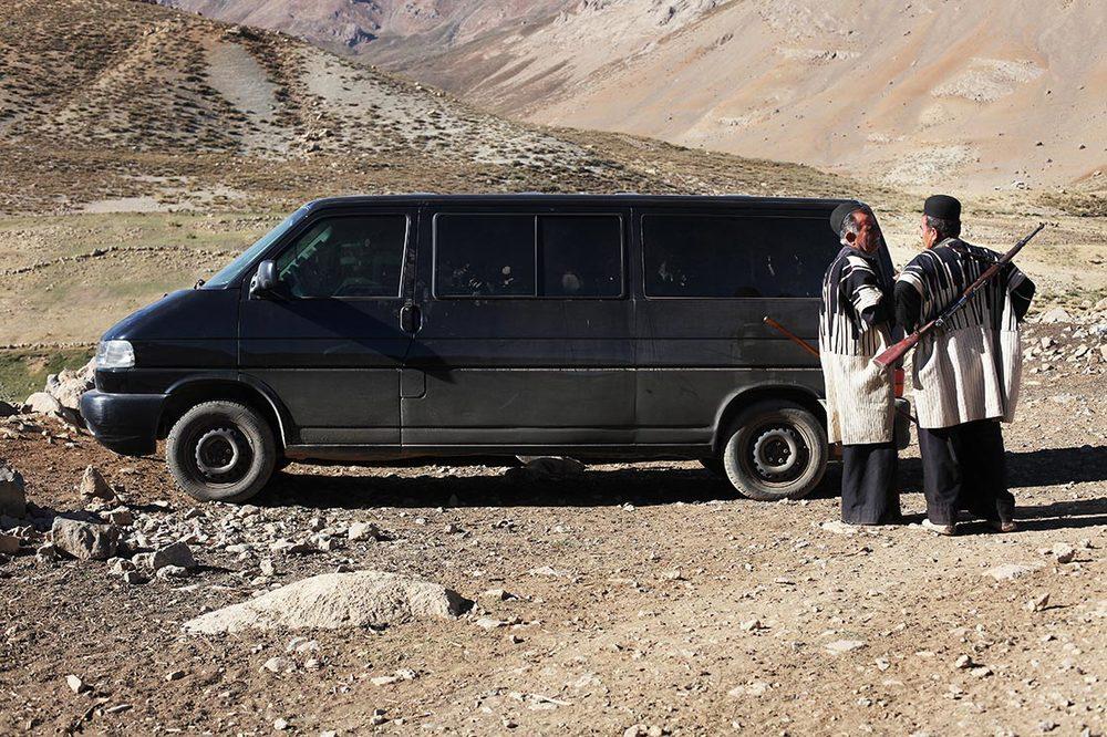 Bakhtiari nomads wait me next to my van...  | Khoorang   | I  RAN