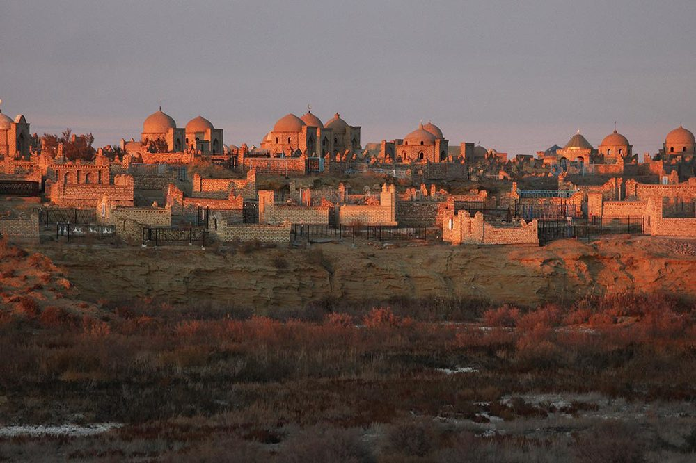 Mizdakhan  nécropolis. N ear  Nukus  in Karakalpakstan | UZBEKISTAN
