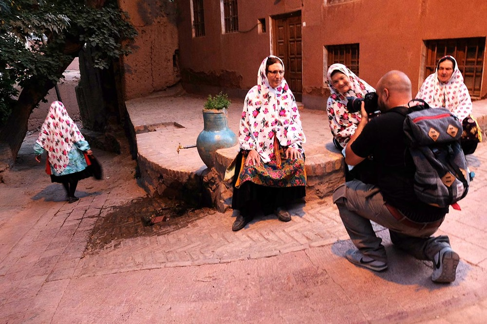 In the streets of Abyaneh | IRAN