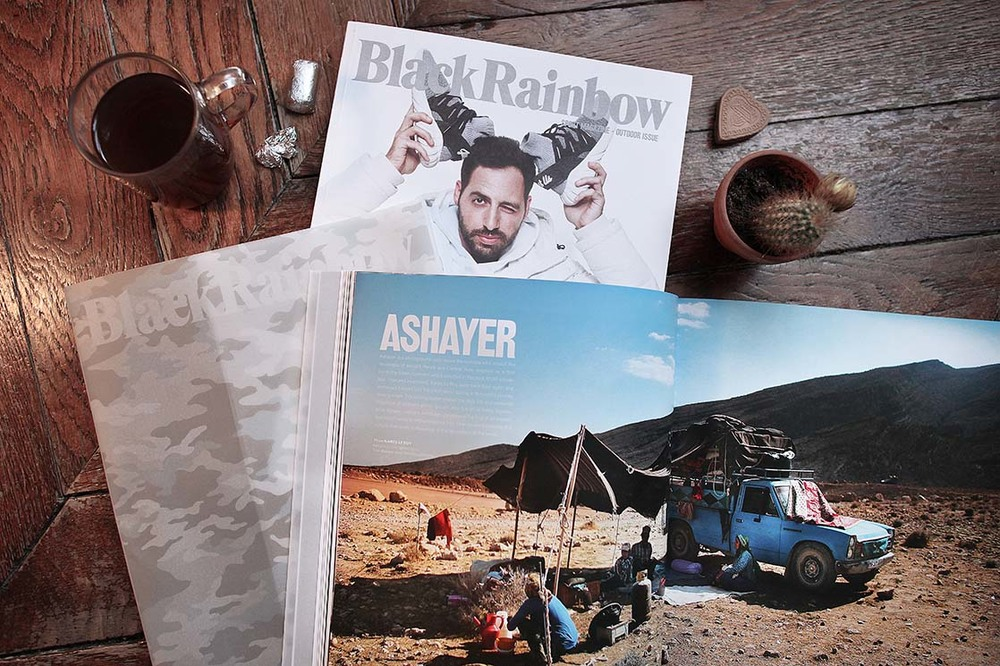BlackRainbow Magazine  Outdoor issue (January 2016)