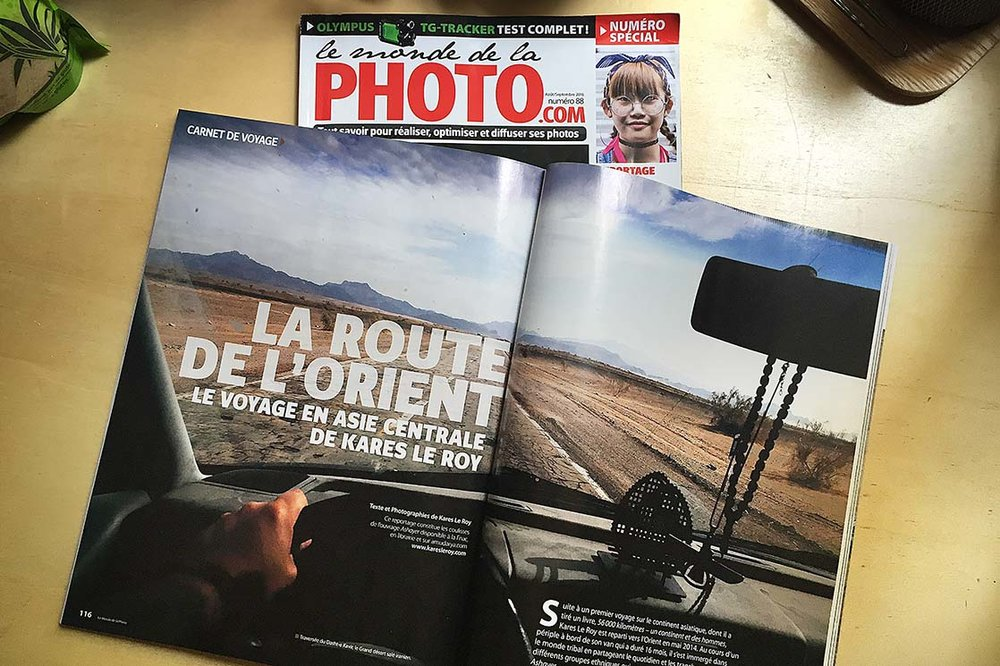 "Monde De La Photo (Summer 2016) > ""LA ROUTE DE L'ORIENT"" 14 pages of backstage"