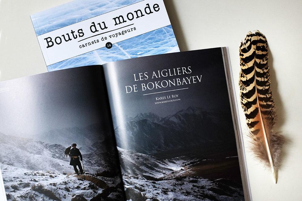 """Bouts Du Monde #26  (Spring 2016) > """"Les Algiers de Bokonbayev"""" 10 pages of report"""
