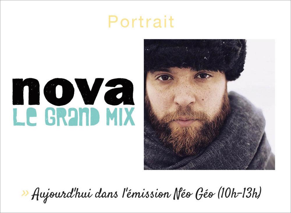 "RADIO NOVA  (Novembre 2017) > Podcast ""Neo Geo"" >  nova.fr"
