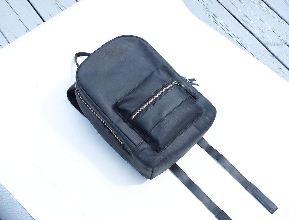 RATIONALE MINI leather backpack