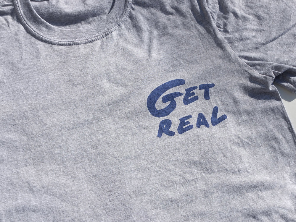 GET REAL Woolfell T-shirt