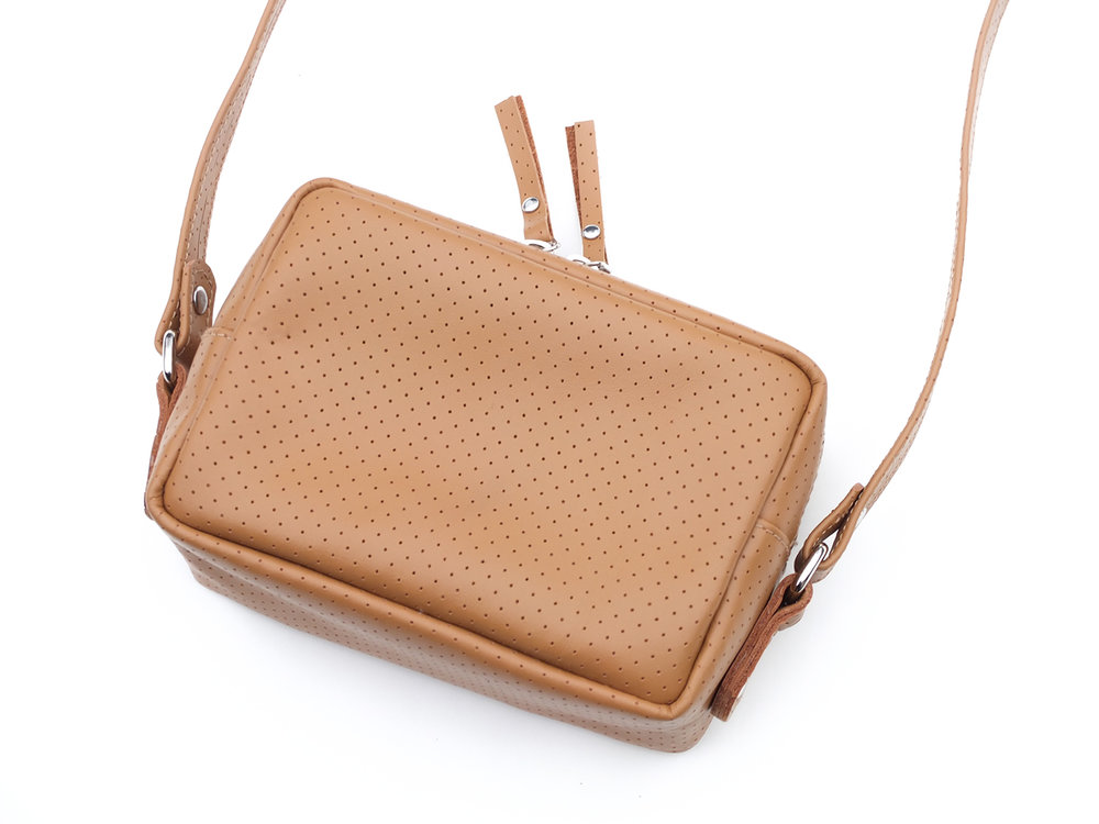 Dotted Beige SQUARE Shoulder bag
