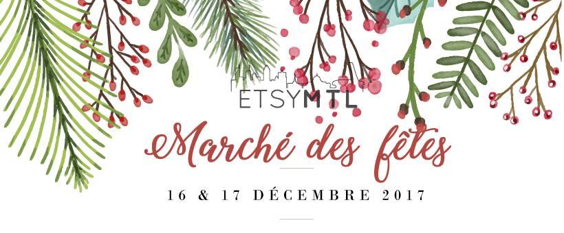 Marché des fêtes Etsy MTL Dec 16 __ 10:00 AM - 6:00 PM Dec 17 __ 10:00 AM - 5:00 PM Théâtre Denise-Pelletier 4353, rue Ste-Catherine Est, Montreal, Quebec H1V 1Y2 INFO