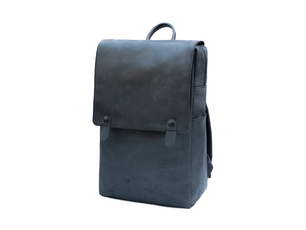 'Minimalist' leather backpack
