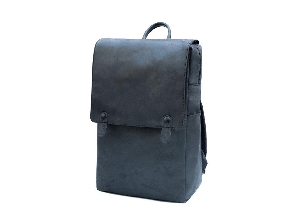 'Minimalist' leather backpack