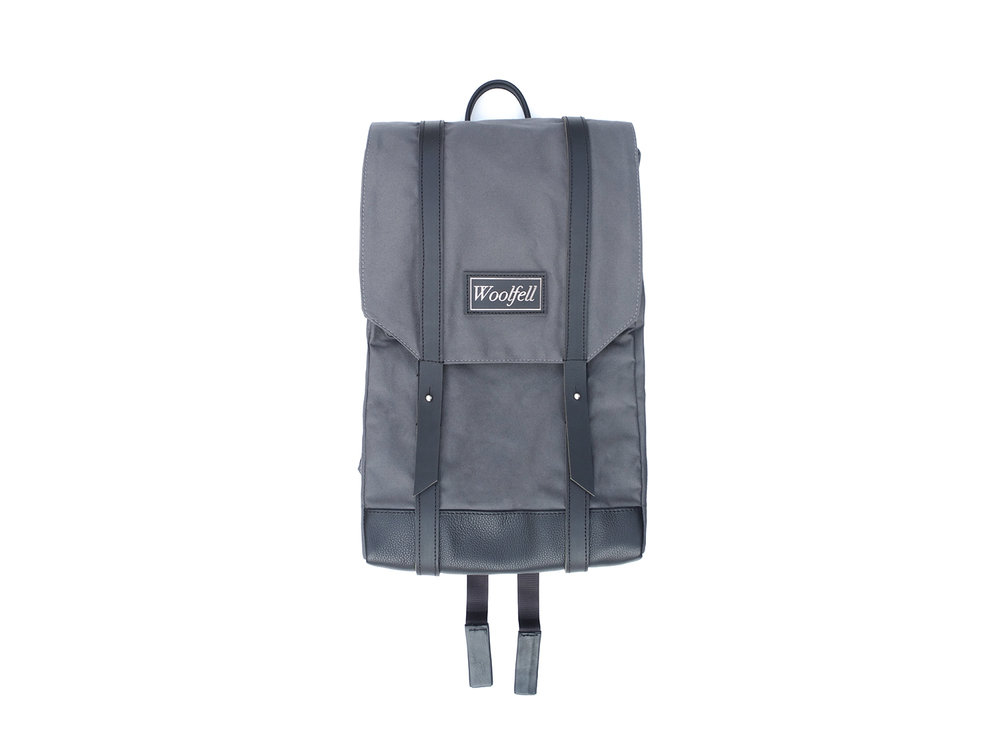 Grey 'Warrior' backpack