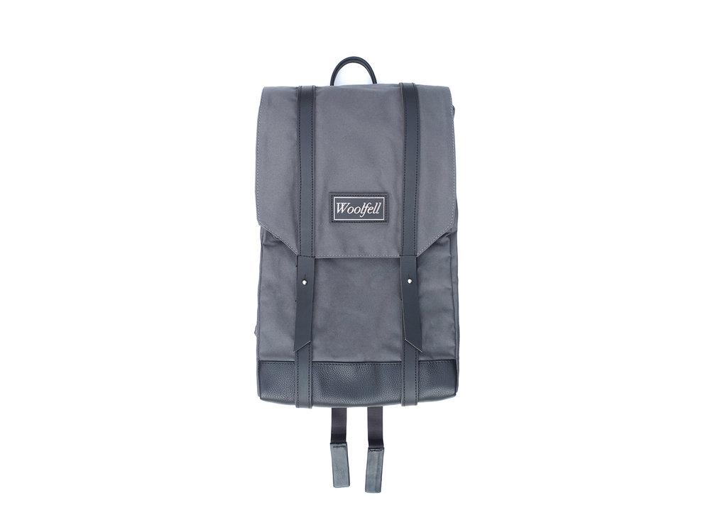 Grey 'Warrior' backpack