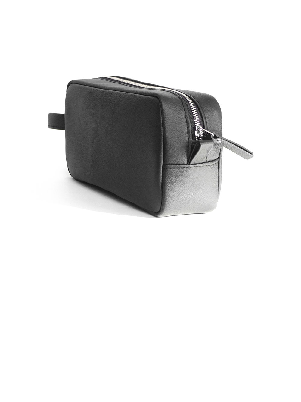 Leather dopp kit - 90.00$