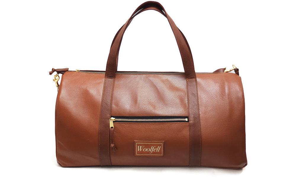 Sacs de voyage en cuir pour FedEx Canada - Leather duffle bags forFedEx Canada