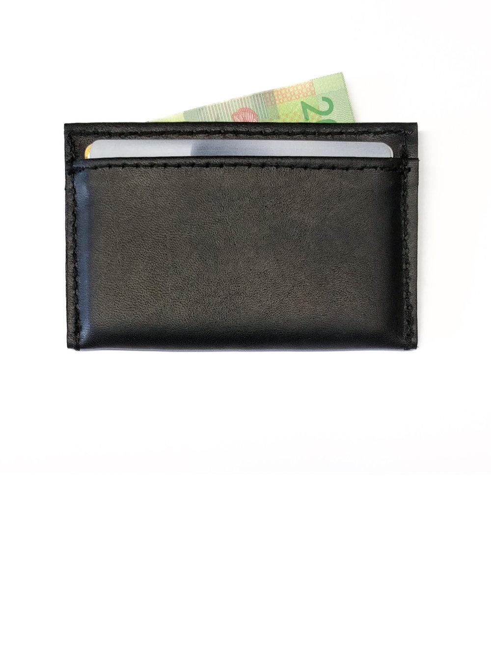 Porte-cartes en cuir - 30.00$