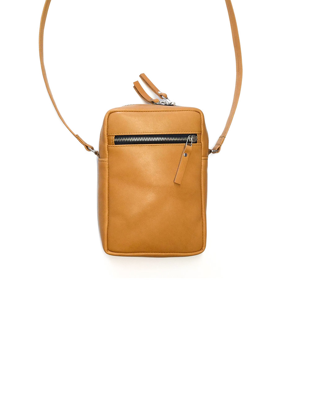 Leather crossbody bag - 140.00$